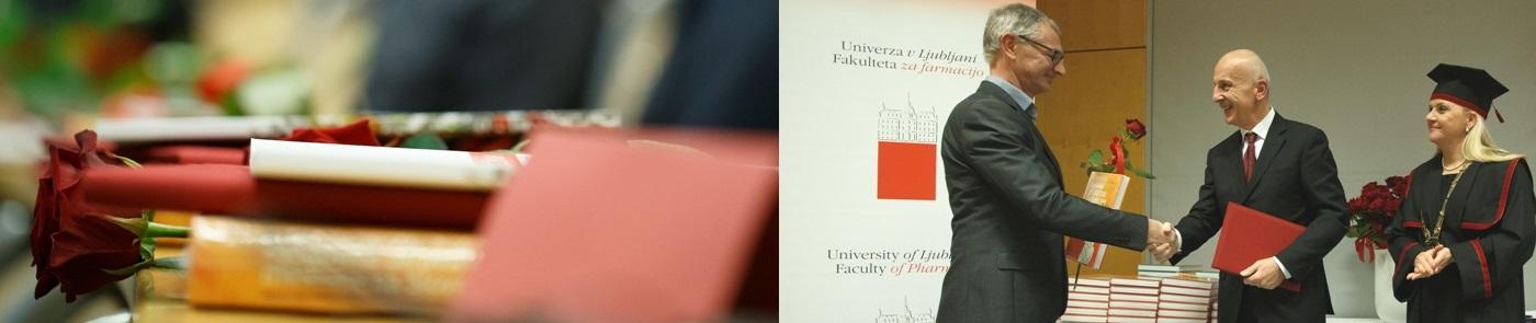dr. Aleš Rotar prejemnik priznanja UL FFA za uspešno sodelovanje s fakulteto