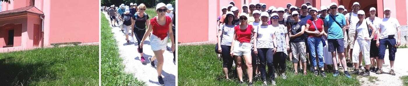 Pohod z druženjem zaposlenih UL Fakultete za farmacijo na Rožniku