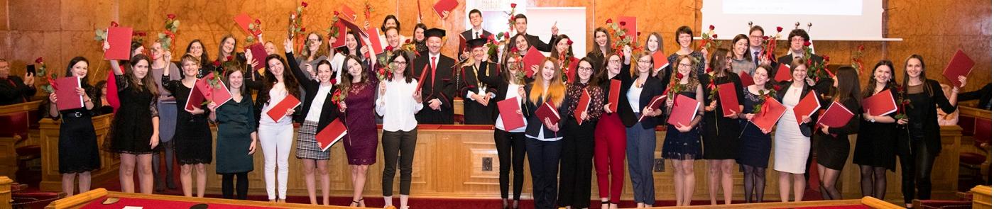 Slovesna podelitev diplom diplomantom Fakultete za farmacijo UL