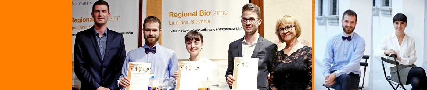 Med individualnimi zmagovalci Regijskega BioCampa 2019 Ardita Veseli in Jurij Zdovc