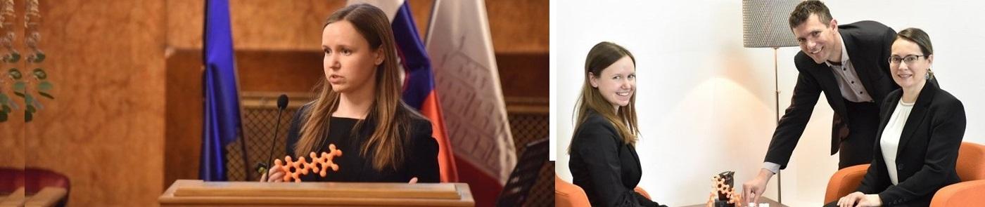 Raziskovalcem UL FFA 2. mesto - Rektorjeva nagrada za naj inovacijo Univerze v Ljubljani za leto 2019
