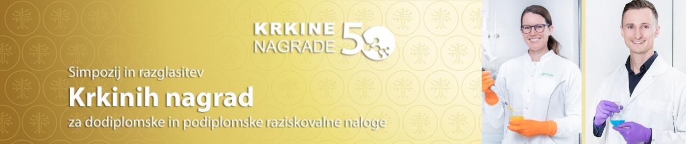 Jubilejne 50. Krkine nagrade - med prejemniki Velikih Krkinih nagrad sta dr. Janja Mirtič in dr. Andraž Lamut iz UL FFA