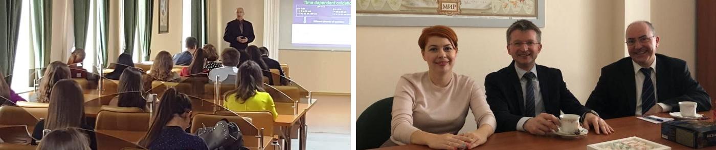 Obisk na Inštitutu za vede o življenju Severno Kavkaške Federalne Univerze