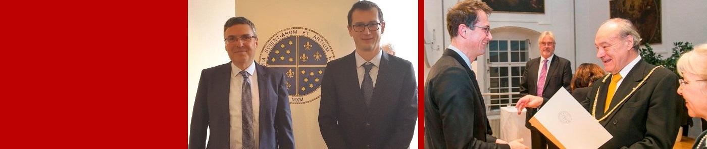 Prof. dr. Stanislav Gobec - član Evropske akademije znanosti in umetnosti