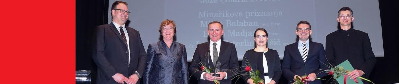 Prof. dr. Lucija Peterlin Mašič prejemnica Minařikovega priznanja 2019